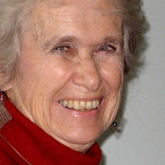 Eva Leveton (+ April 2015. Wir trauern um sie.)